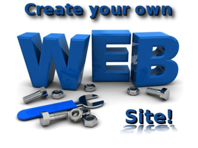 What implies the process of creating a website?